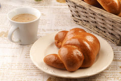 Simple breakfast Royalty Free Stock Image