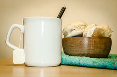 Simple breakfast Royalty Free Stock Photography