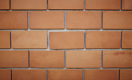 Simple brick wall Stock Image