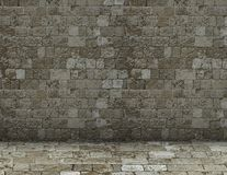 Simple brick wall background Royalty Free Stock Photo