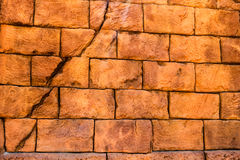 A Simple Brick Wall Stock Photography