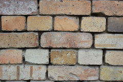 Simple brick wall. texture Stock Images
