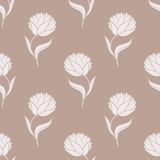 Simple brown pattern Royalty Free Stock Image