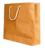Simple browse recycled paper bag Royalty Free Stock Photo