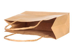 Simple browse recycled paper bag Royalty Free Stock Photography