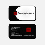 Simple business cards Royalty Free Stock Photos