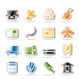 Simple Business and industry icons Stock Images