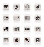Simple Business and industry icons Stock Image
