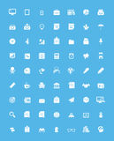 Simple business and office  icon set Royalty Free Stock Images