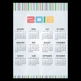 2016 simple business paper background wall calendar eps10. 2016 simple business paper background wall calendar Stock Photo