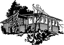Simple Cabin Royalty Free Stock Photography