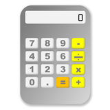 Simple calculator Stock Photography