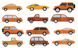 Simple cars collection Stock Photography