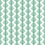 Simple cartoon fir tree on white background. Christmas wrapper. Simple cartoon fir tree on white background. Seamless pattern. Christmas wrapper Royalty Free Stock Photo