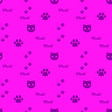The simple  cat background. Royalty Free Stock Photos