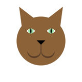 Simple cat Royalty Free Stock Photo