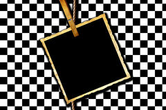 Simple checkered background Royalty Free Stock Photo