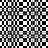 Simple checkered black and white Royalty Free Stock Image