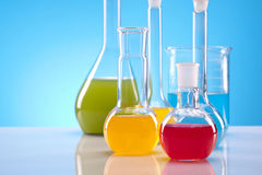 Simple Chemistry Royalty Free Stock Images