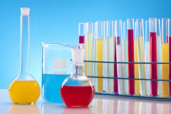 Simple Chemistry Royalty Free Stock Image