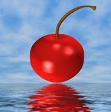 A Simple Cherry Stock Photography