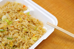 Simple Chinese fried rice Royalty Free Stock Photography