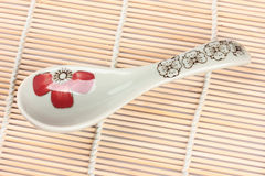 Simple Chinese spoons Royalty Free Stock Photography