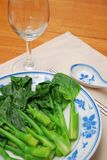 Simple Chinese style vegetables Royalty Free Stock Photography