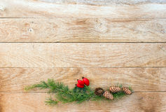 Simple Christmas decorations Stock Photography