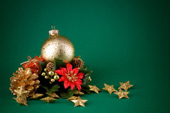 Simple christmas postcard Royalty Free Stock Image