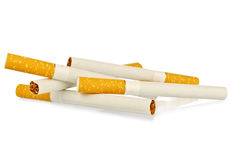 Simple cigarettes Royalty Free Stock Images
