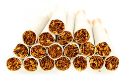 Simple cigarettes Stock Images