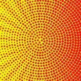 Simple circle halftone background Stock Photo