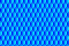 Simple circular background. Fish scale pattern, Simple circular background - blue - vector circle pattern, Egg abstract vector pattern Royalty Free Stock Photos