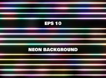 Simple classic abstract colorful neon line patterns background. Illustration vector eps10 Royalty Free Stock Photos