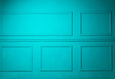 Simple classic turquoise interior Royalty Free Stock Image