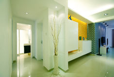 Simple and clean house. Beijing residents and a clean house clean Stock Photo