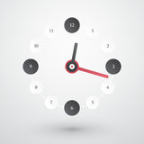 Simple clock Royalty Free Stock Photo