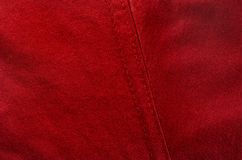 Simple cloth of red color Royalty Free Stock Image