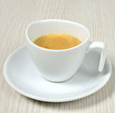Simple coffee cup Royalty Free Stock Photography