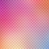 Simple colorful abstract pattern with triangles Royalty Free Stock Photo