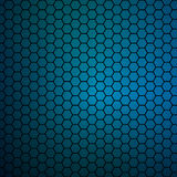 Simple colorful background consisting of hexagons Stock Images