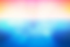 Simple Colorful Gradient light Blurred Background,Easy to make beauty pretty spaces as contemporary background Stock Photos