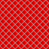 Simple colorful repeatable pattern with tilted squares. Minimal. Monochrome seamless background. - Royalty free vector illustration Royalty Free Stock Images