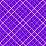 Simple colorful repeatable pattern with tilted squares. Minimal. Monochrome seamless background. - Royalty free vector illustration Stock Photos