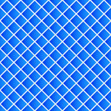 Simple colorful repeatable pattern with tilted squares. Minimal. Monochrome seamless background. - Royalty free vector illustration Royalty Free Stock Photo