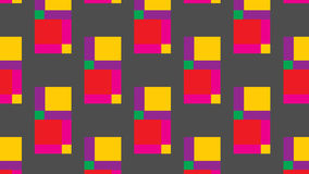 Simple colorful square pattern Stock Photos