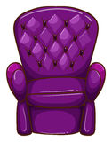 A simple coloured drawing of a chair Royalty Free Stock Photos