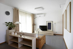Simple and comfortable indoor home environment Stock Photography