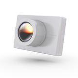 Simple compact photo camera Royalty Free Stock Photo